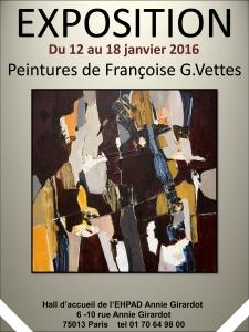 Exposition Peintures de Françoise G.Vettes